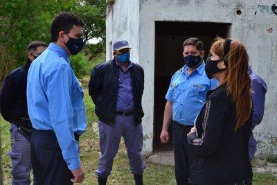 Puerto Tirol: comenzó el proyecto para crear un destacamento policial en el Cruce Viejo y Campo Rossi
