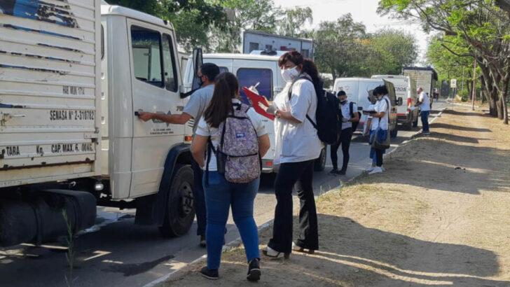 Resistencia: el Municipio concretó un nuevo control bromatológico en transportes de productos alimenticios