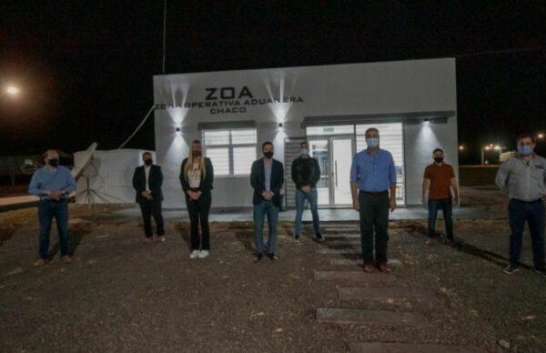 Sáenz Peña: Capitanich inauguró remodelaciones en las oficinas de la zona operativa aduanera