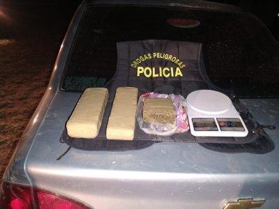 Sáenz Peña: llevaba droga en su auto y fue demorado
