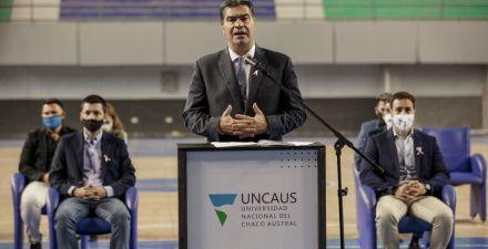 Sáenz Peña ya cuenta con el nuevo vacunatorio de la Uncaus