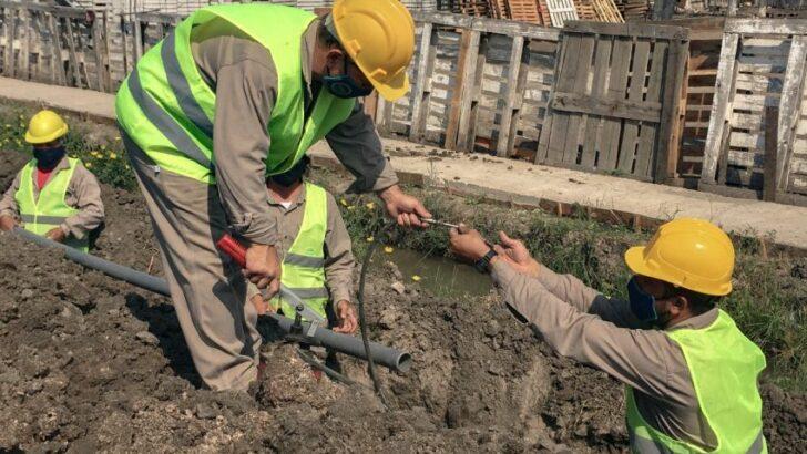 Sameep avanza con obras de agua potable para los barrios Las Palmeritas y San Expedito de Resistencia