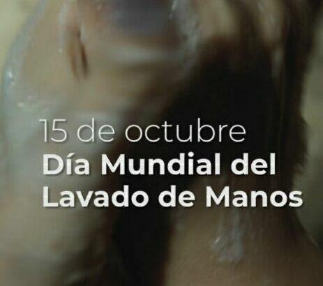 Un Día Mundial del Lavado de Manos muy especial