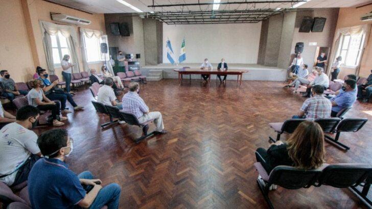 Villa Ángela: coordinaron las medidas de restricción en el inicio de la cuarentena estricta