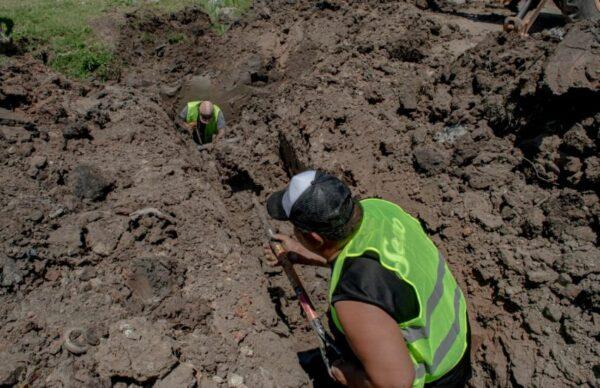 Agua potable: Sameep amplía el servicio en el barrio Los Aromitos 1