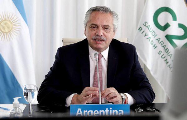 """Alberto Fernández, ante el G20: """"Estamos ante un verdadero cambio de época"""" 1"""