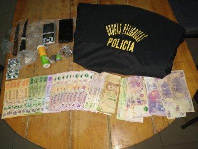 Antinarcóticos: desarticulan un bunker de drogas en Villa Ángela