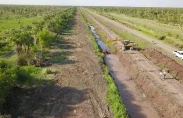 APA: avanza el saneamiento del canal Río Muerto – Las Colonias 1