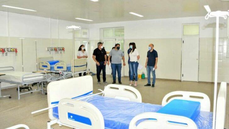 Covid 19 en Sáenz Peña: Salud suma más camas para la internación de pacientes en el hospital
