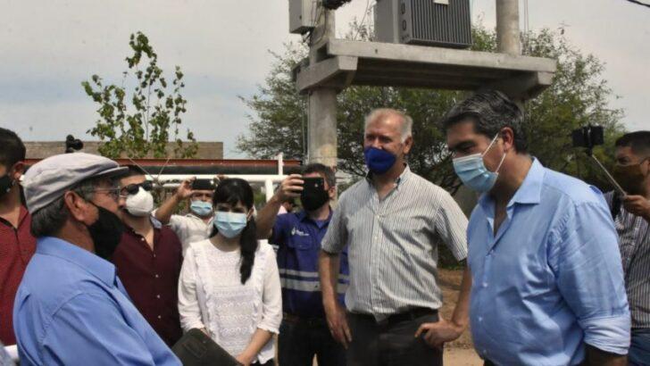 El Impenetrable: Capitanich inauguró obras energéticas para beneficiar a más de 4.200 familias
