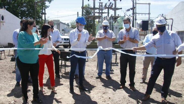 Energía eléctrica: inauguraron un centro de distribución en San Martín