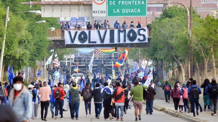Evo Morales volvió a Bolivia, tras su asilo en Argentina