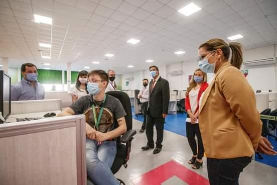 """Magda Ayala: """"Con la provincia trabajamos unidos para poner a Barranqueras de pie"""""""