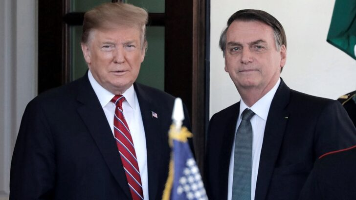 Obama comparó a Bolsonaro con Trump