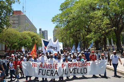 Organizaciones sociales pidieron el fin de la represión de Olivello