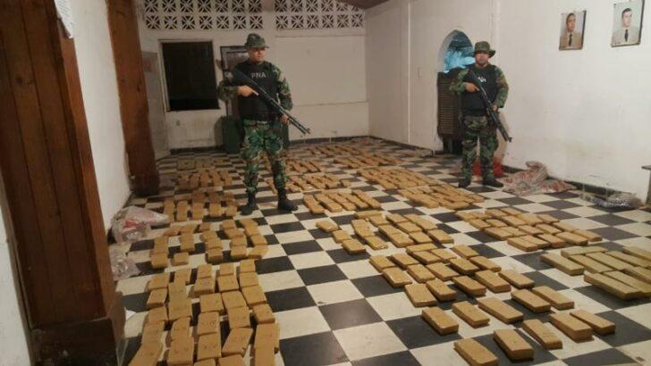 Prefectura decomiso más de 310 kilos de marihuana