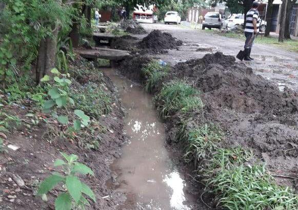 Resistencia: el Municipio asegura que hubo un buen comportamiento de los desagües, a pesar de los 78 milímetros de agua caída