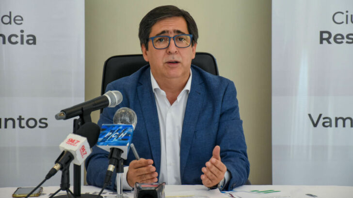 Resistencia: Gustavo Martínez realizó anuncios en materia salarial para los empleados municipales
