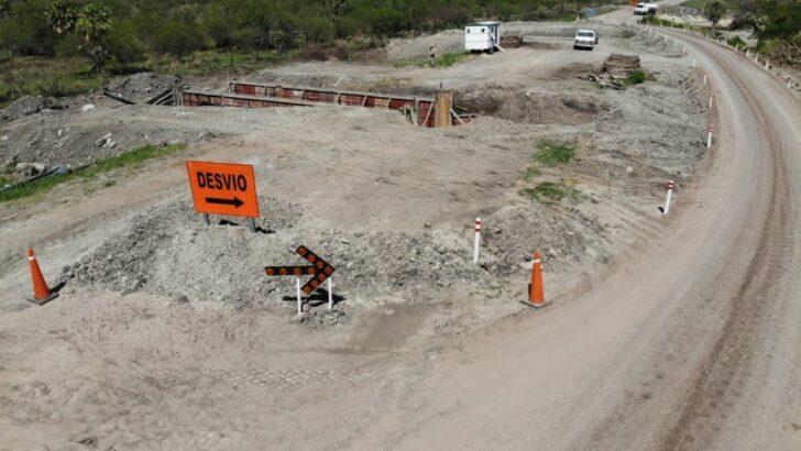Ruta Provincial 13: Vialidad Provincial ejecuta los primeros kilómetros de pavimentación