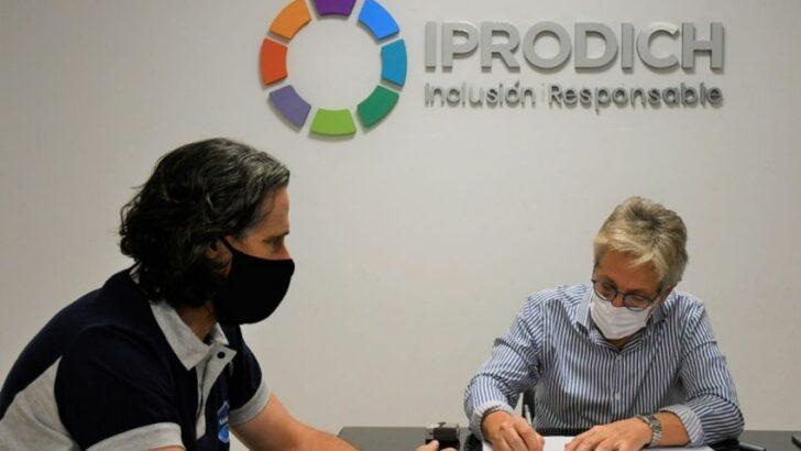 Sameep e Iprodich firmaron un convenio para beneficiar a las personas con discapacidad
