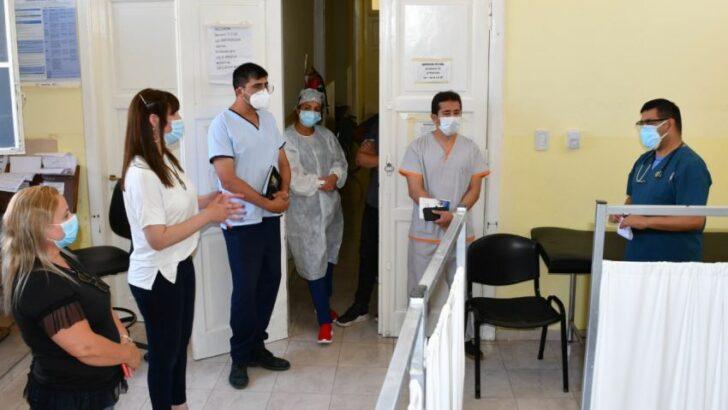 Villa Ángela: la ministra de Salud monitoreó la situación en el hospital, con la Región Sanitaria 1 y el Comité de Emergencias