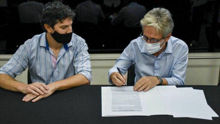 Vivienda e Iprodich firmaron un convenio para actualizar la información entre sus usuarios