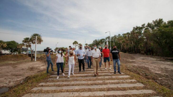 Aniversario de la Masacre de Margarita: Capitanich recorrió las obras del Parque de la Memoria