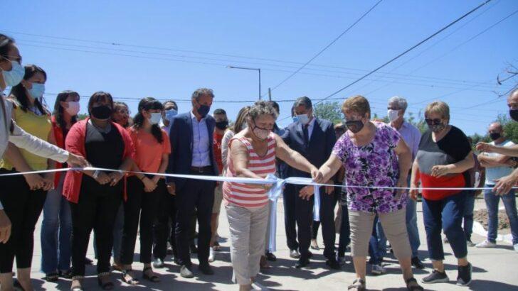 Barranqueras: se inauguraron 8 cuadras de pavimento