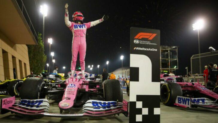 Checo Pérez consiguió su primera victoria en la F1