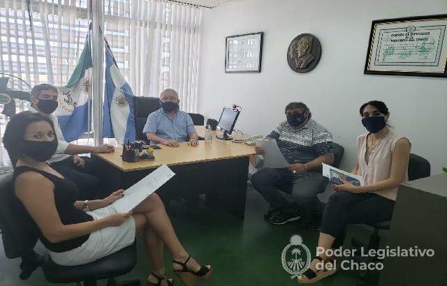 Diputados recibieron a autoridades gremiales del Puerto de Barranqueras
