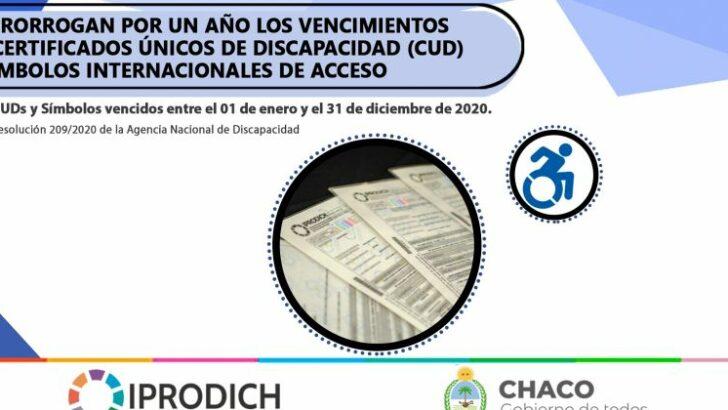 Discapacidad: se prorrogan por un año los vencimientos de certificados y símbolos internacionales de acceso