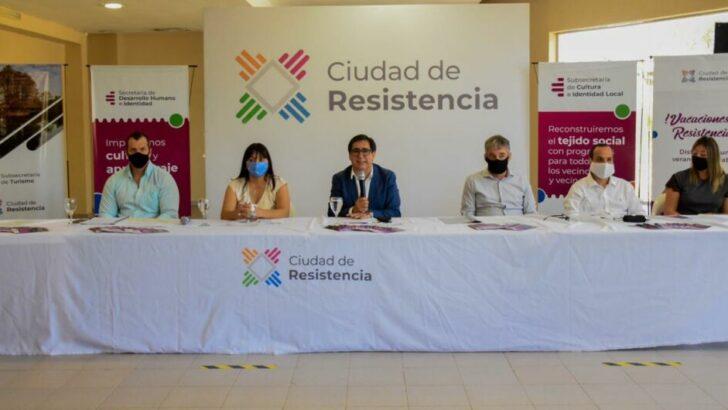 """El 4 de enero arranca """"Vacaciones en Resistencia"""", el plan del Municipio para un verano con visión inclusiva"""