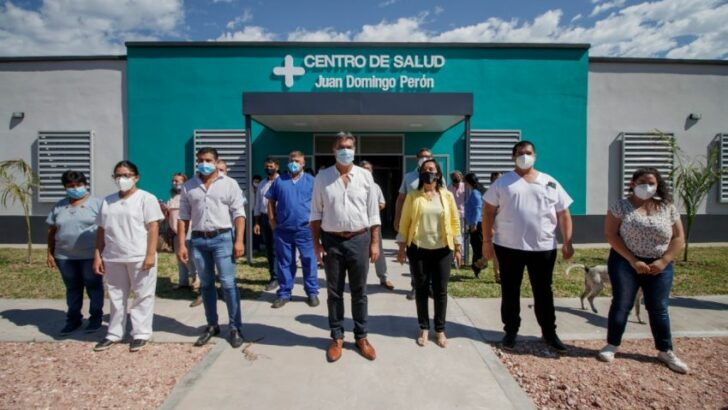 Enrique Urien: inauguraron la ampliación y refacción del Centro de Salud