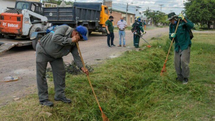 Plan Eco Ciudad: operativo integral de limpieza en las villas, Juan de Garay y El Tala, de Resistencia