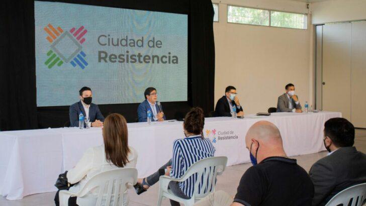 Resistencia: Gustavo Martínez presentó seis planes directores de gestión para lograr el desarrollo armónico y sostenible de la capital chaqueña