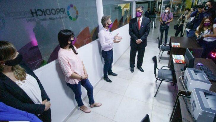 Se inauguró la ventanilla única para personas con discapacidad en la ETO de Resistencia