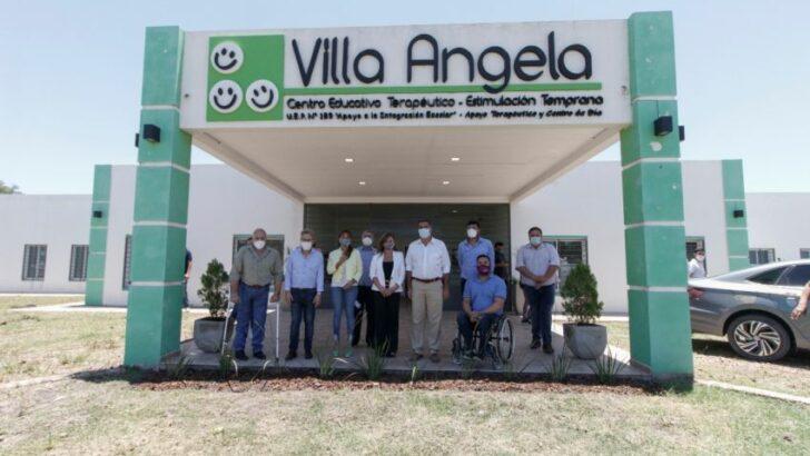 Villa Ángela: Capitanich inauguró un Centro Educativo Terapéutico