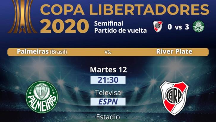 Aferrado al sueño imposible, River busca dar vuelta la serie ante Palmeiras