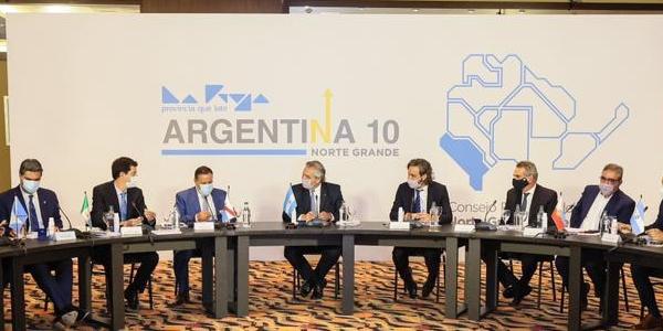 Alberto Fernández se reúne con los gobernadores del Norte Grande