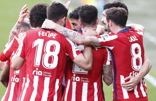 Atlético de Madrid se consolida en la cima de la Liga de España 1