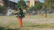 Barrio Ítalo Argentino: el Municipio de Resistencia realizó trabajos de saneamiento ambiental