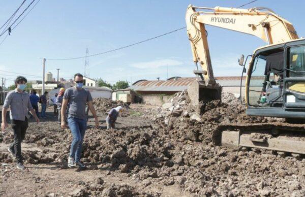 Barrio Toba: construyen viviendas y obras integrales 2