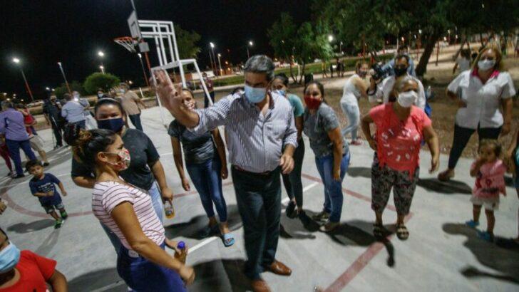Inauguraron el Paseo Sur de Barranqueras: «es un espacio de encuentro para la construcción de valores»