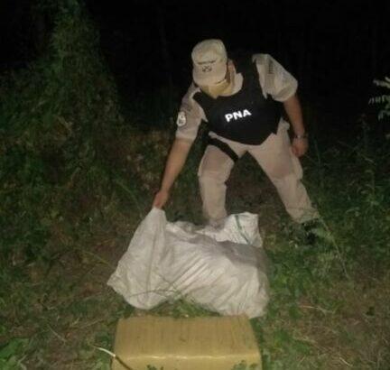 Corrientes: Prefectura secuestró casi 75 kilos de marihuana