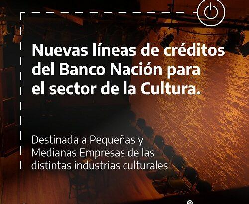 Créditos a tasa cero para PyMEs de la cultura