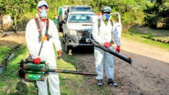 Dengue: Salud Pública desplegó acciones de prevención y control focal ante dos posibles casos