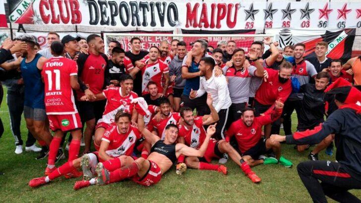 Deportivo Maipú ascendió a la Primera Nacional