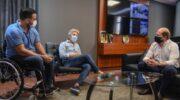 Discapacidad: la cartera de Gobierno y el Iprodich acordaron medidas de inclusión