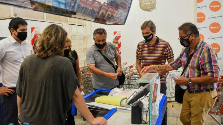 Efectuaron controles de precios y stock en un supermercado de Resistencia