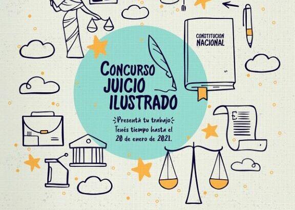 El concurso Juicio Ilustrado otorgará  30 mil pesos en concepto de premio